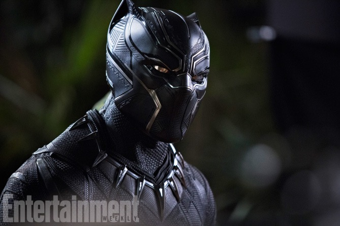 EW's Exclusive look at Black Panther
