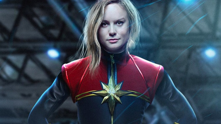 Marvel Gives It's First Look At Captain Marvel