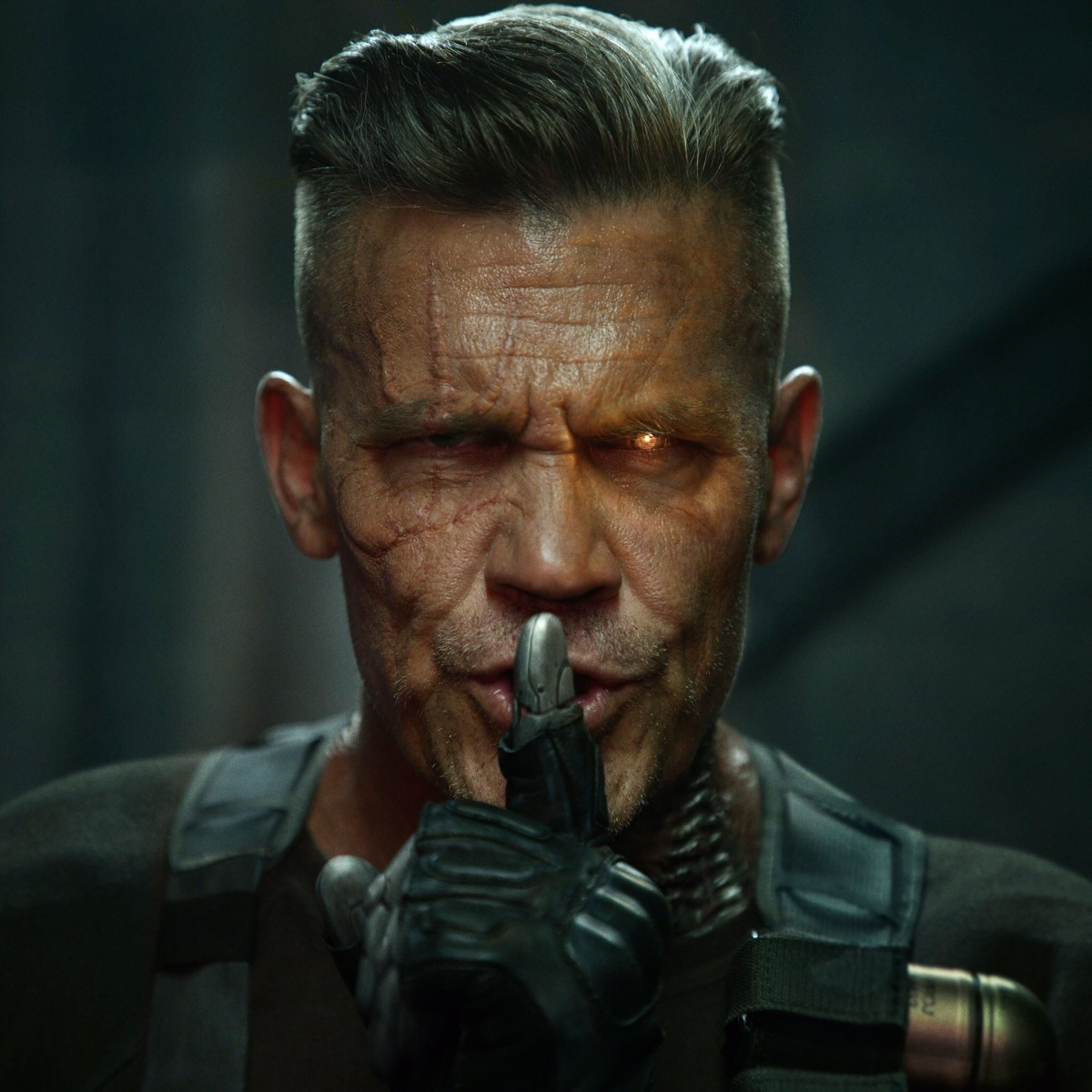 Check out Josh Brolin as Cable in Deadpool 2